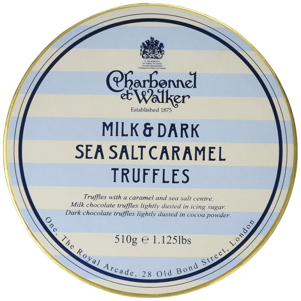 Charbonnel Et Walker Sea Salt Milk and Dark Caramel Truffles 510g
