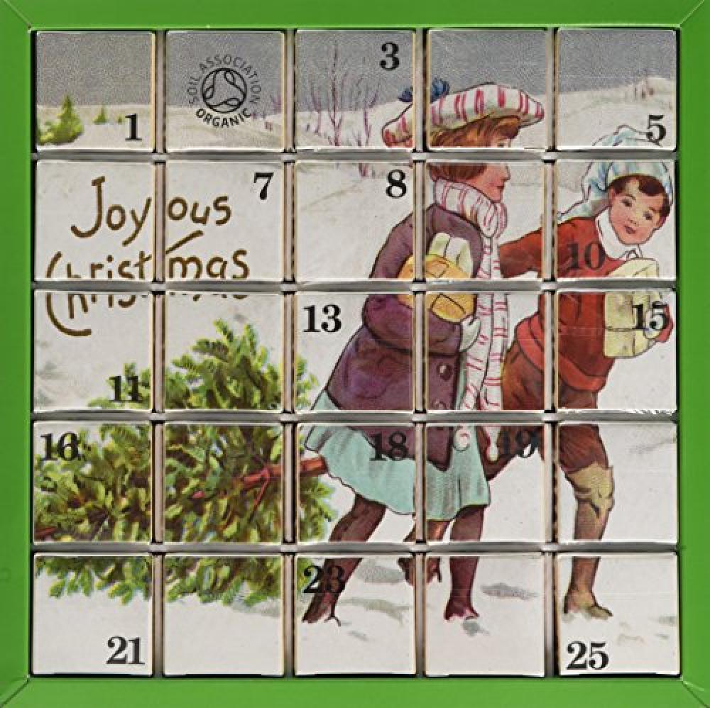 English Tea Shop Xmas Advent Calendar Joyous Christmas Pyramid Tea Bags