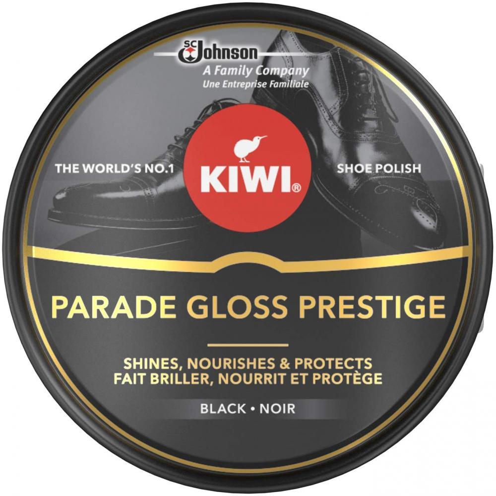 Kiwi Shoe Parade Gloss Prestige Polish Tin Black 50ml
