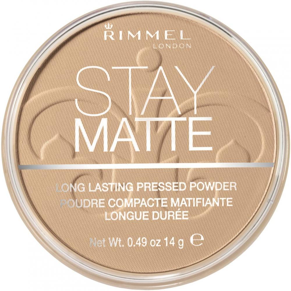 Rimmel London Stay Matte Pressed Powder 6 Warm Beige 14 g