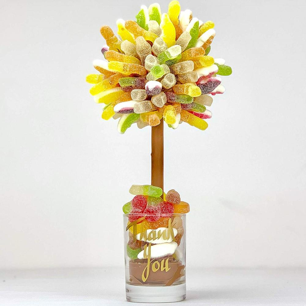 Sweet Trees Fizzy Haribo Personalised Sweet TreeThank You 25 cm