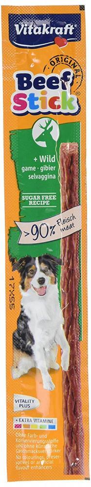 Vitakraft Wild Beef Stick 12 g For Dogs