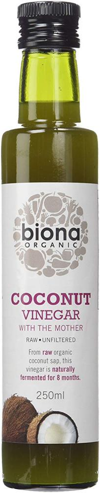 Biona Organic Coconut Vinegar with Mother 250ml