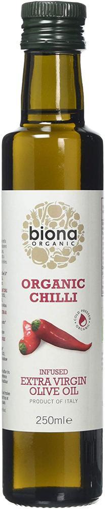 Biona Organic Chilli Extra Virgin Olive Oil 250 ml
