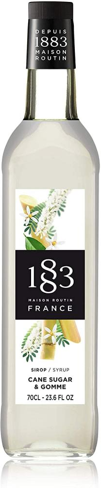 Maison Routin 1883 Premium Cane Sugar and Gomme Syrup 700 ml