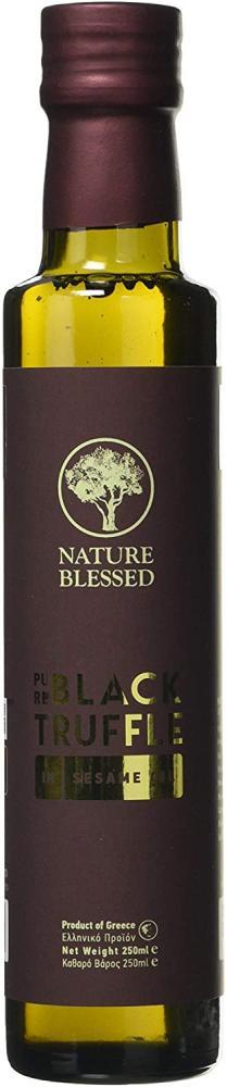 SALE  Nature Blessed Black Truffle In Sesame Oil Glass Bottle 250 ml