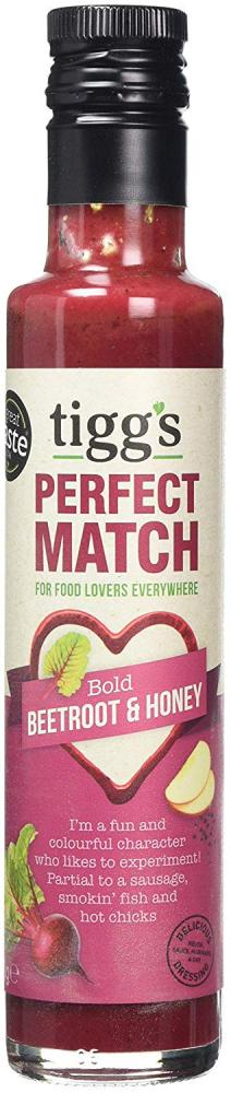 Tiggs Perfect Match Bold Beetroot and Honey 250g