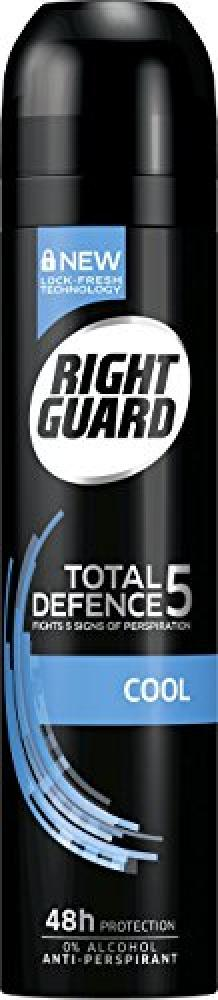 Right Guard Total Defence 5 Cool Anti Perspirant 250ml