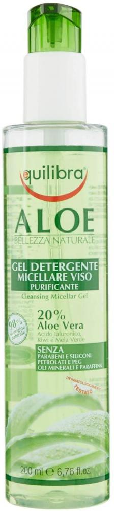 Equilibra Aloe - Face Micellar Gel with Aloe Vera 200 ml