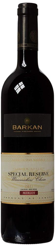 Barkan Wine Makers Choice Special Reserve Merlot Kosher 75cl 2011
