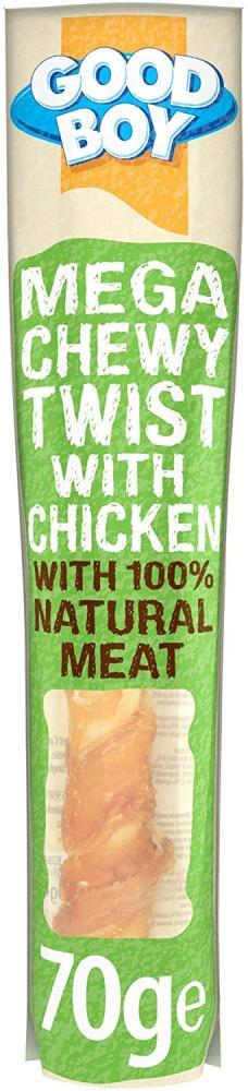 Good Boy Mega Chewy Twist With Chicken 70g