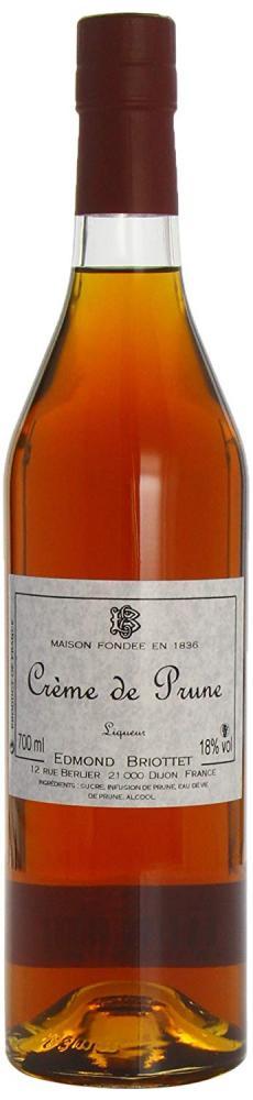 Edmond Briottet Creme de Prune (Plum) Liqueurs 70 cl