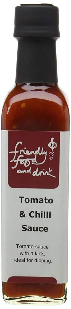 Friendly Food and Drink Tomato and Chilli Sauce 225 ml