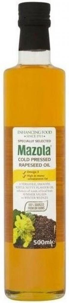 Mazola Cold Pressed Rapeseed Oil 500ml