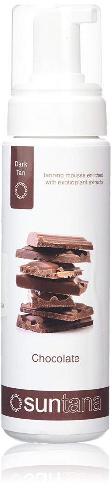 Suntana Spray tan Chocolate Tan Mousse - Dark 200ml