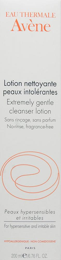 Avene Extremely Gentle Cleanser Lotion (For Hypersensitive and Irritable Skin) 200 ml