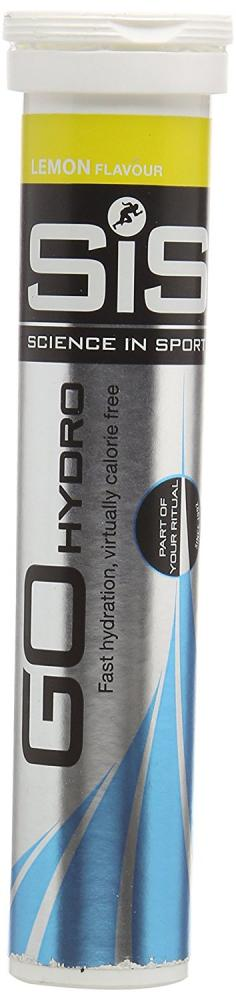 Science In Sport Go Hydro Hydration Tablets - Lemon Tube of 20