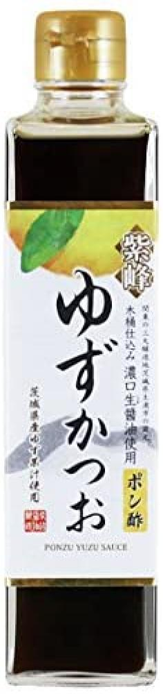 Shibanuma Shoyu Jozo Ponzu Sauce with Yuzu and Katsou Bonito 300ml