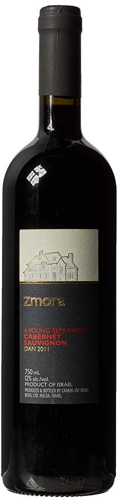 Zmora A Young Semi Sweet Cabernet Sauvignon 750ml