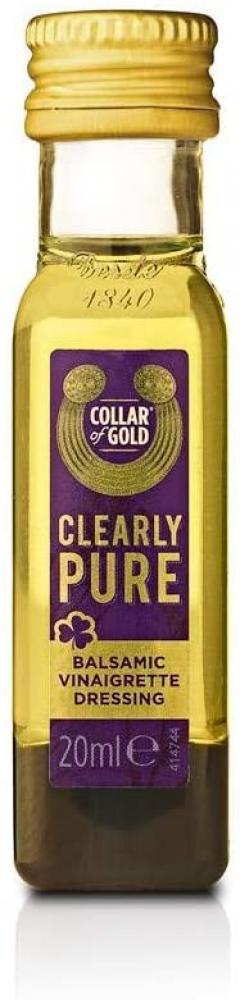 Collar of Gold Gold Balsamic Vinaigrette Dressing 10 x 20ml