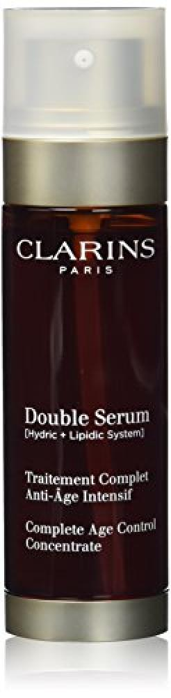 Clarins Paris Complete Age Control Double Serum 50ml Damaged Box