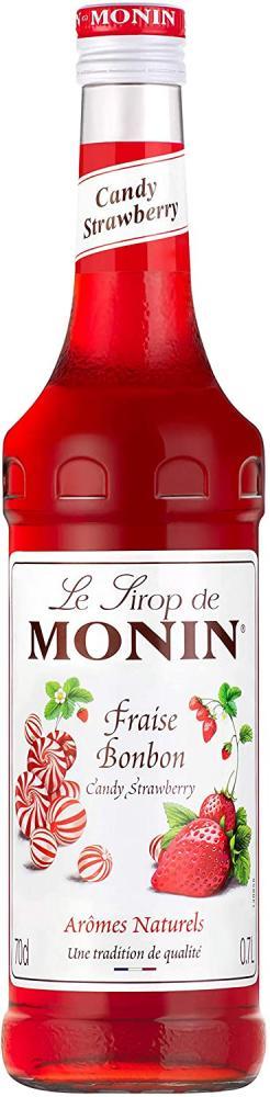 Monin Premium Strawberry Candy Syrup 700ml
