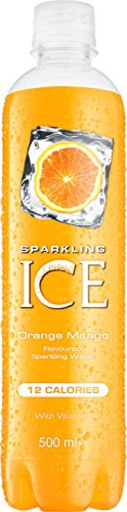 Sparkling Ice Orange Mango Flavour Sparkling Water 500ml