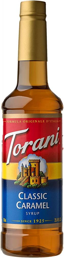Torani Classic Caramel Syrup 750 ml