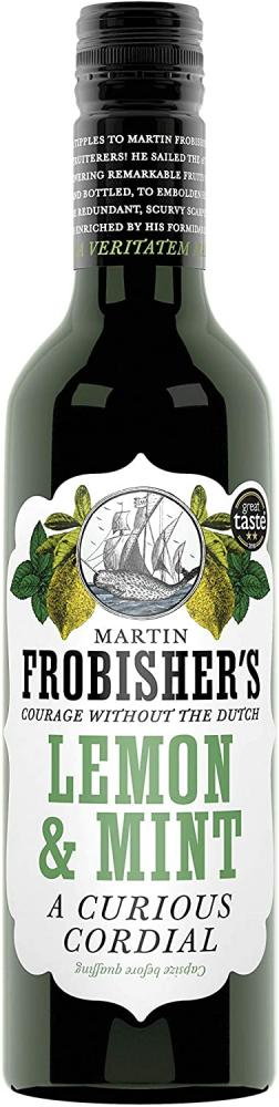 Martin Frobishers Lemon and Mint Cordial 365ml