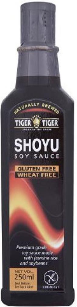 Tiger Tiger Shoyu Soy Sauce Gluten Free 250ml
