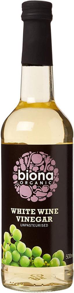 Biona Organic White Wine Vinegar 500 ml