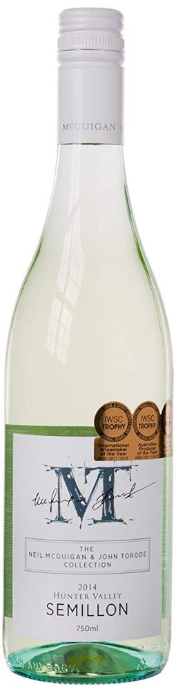 Mcguigan and Torode Semillon White Wine 750 ml