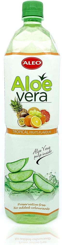 Aleo Tropical Fruits Flavour Aloe Vera Drink 1.5L