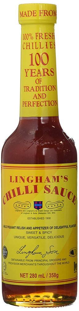 Linghams Chilli Sauce 358g