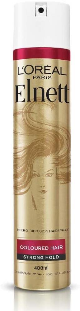 Loreal Paris Elnett Hairspray for Coloured Hair 400 ml