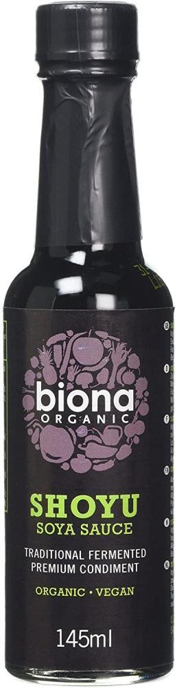Biona Organic Shoyu Sauce Traditionally Brewed 145ml