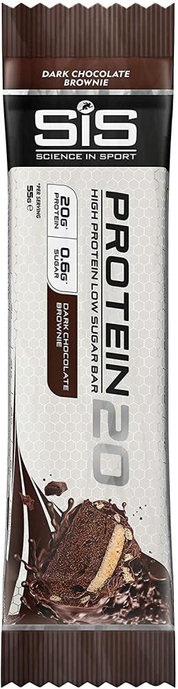 Science In Sport Protein20 Bar Double Chocolate Brownie 55g