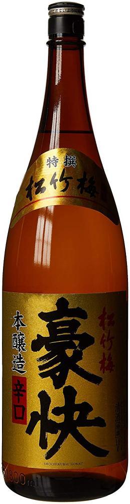 Takara Tokusen Shochikubai Gokai Honjozo Karakuchi Sake 1800ml