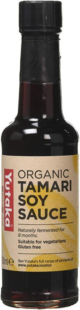 Yutaka Organic Tamari Soy Sauce 150 ml