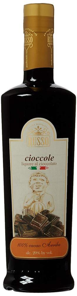 Russo Chocolate Cream Liqueur 500ml