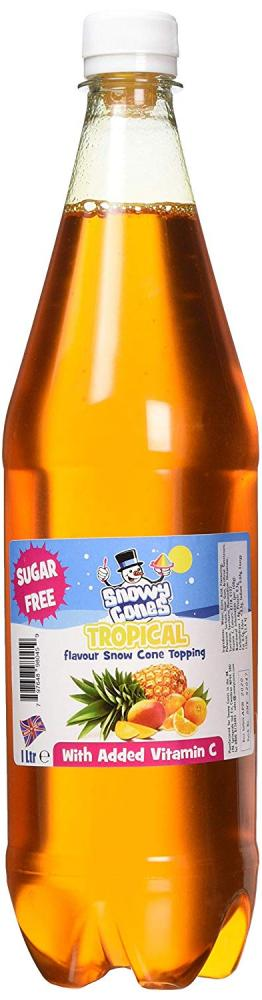 Snowycones Tropical Flavour Snow Cone Topping 1l