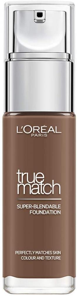 Loreal Paris True Match Liquid Foundation 11N Cafe Profond-Dark Coffee 30 ml