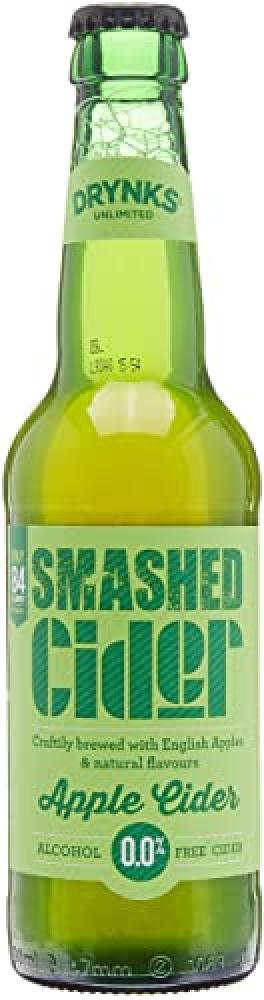 Drynks Smashed Apple Cider Alcohol Free 330ml