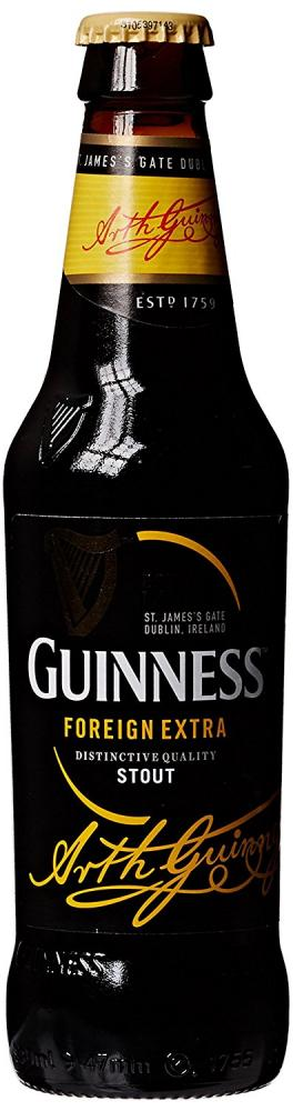 Guinness foreign extra bottle beer 330 ml approved food - Guinness beer images ...
