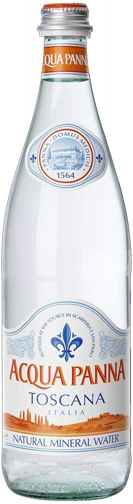 Acqua Panna Natural Mineral Water 750 ml