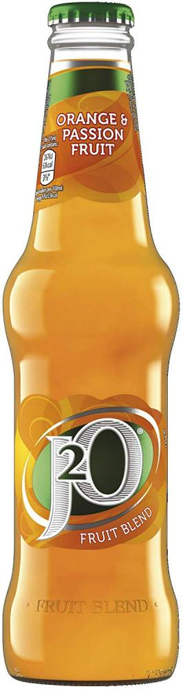 J2O Orange And Passion Fruit Juice Drink 275ml