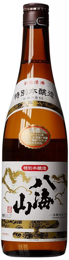 SALE  Hakkai Jozo Hakkaisan Tokubetsu Honjozo Sake 72 cl