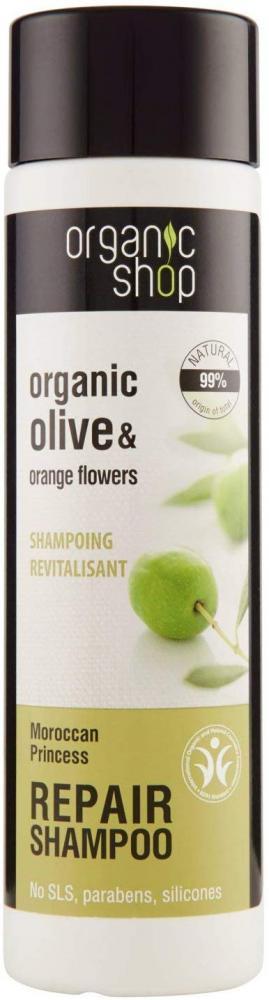 Organic Shop Restorative Multi Intensive Shampoo Olive and Orange Flowers 280 ml