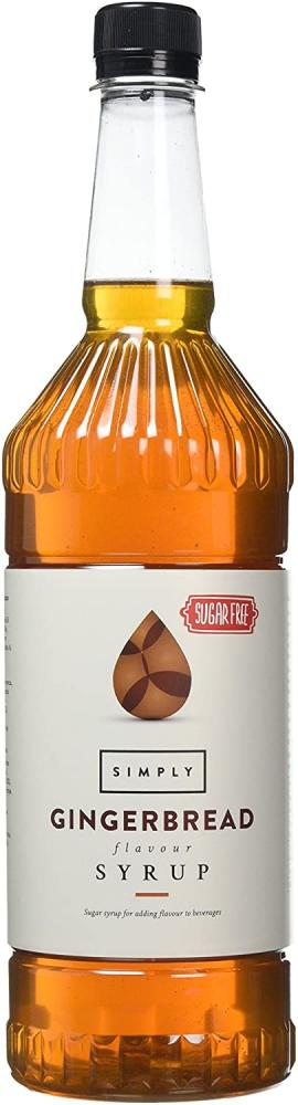 Simply Sugar Free Ginger Bread Syrup 1L