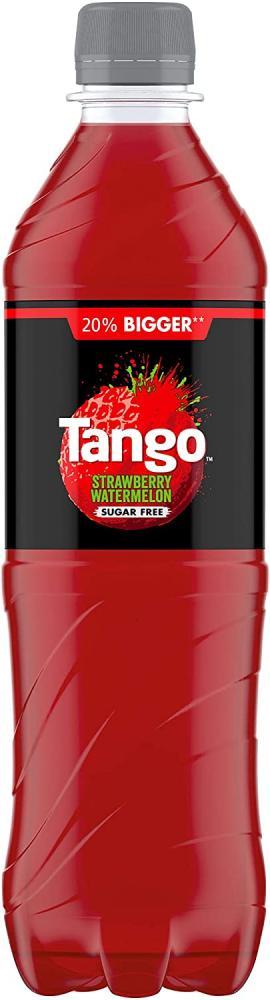 Tango Sugar Free Strawberry And Watermelon Soft Drink 600 ml